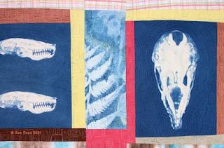 Sue Reno, Mole and Fern, detail 1