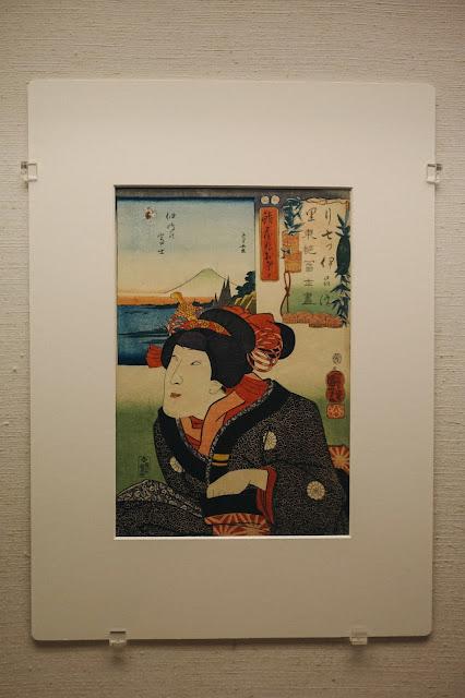 二代目尾上菊次郎のお里(Onoe Kikujiro II as Osato) 歌川国芳