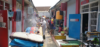 PMI Hujani Disinfektan Di Lapas Jember Pasca Belasan Napi Terkonfirmasi Positif Covid