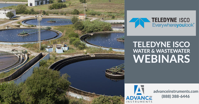 Water and Wastewater Webinar Library from Teledyne ISCO