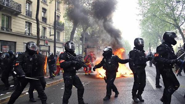 1er-Mai : Les syndicats de retour dans la rue, des heurts dans le cortège parisien