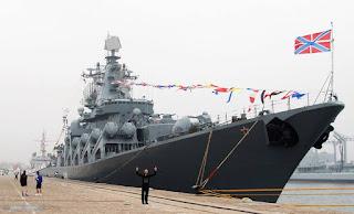 """Kapal Perang Penjelajah Rusia """"Varyag"""""""