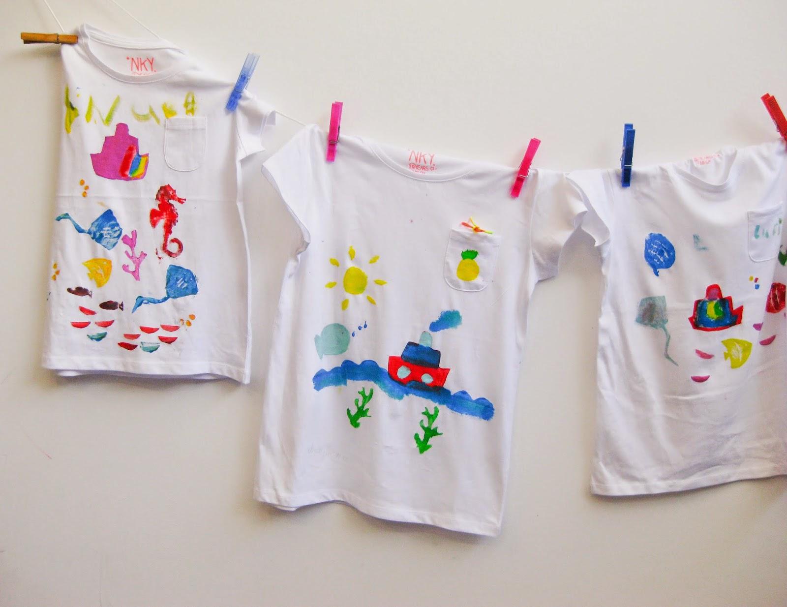 Así fue nuestro taller de estampado de camisetas en Barquito de ...