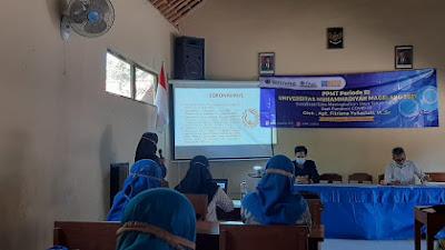 Mahasiswa UNIMMA Gelar PPMT di Karangrejo, dan Sosialisasi Pentingnya Prokes
