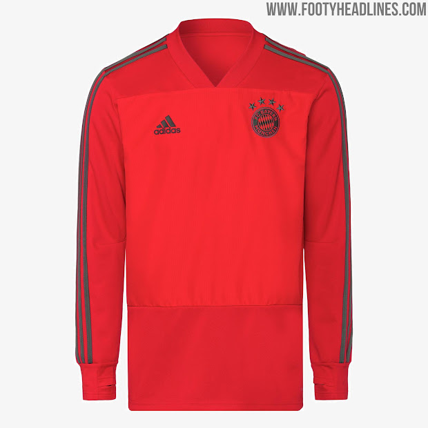 low priced 64a00 a5638 Bayern Munich 18 19 Training Kit Leaked Footy Headlines ...