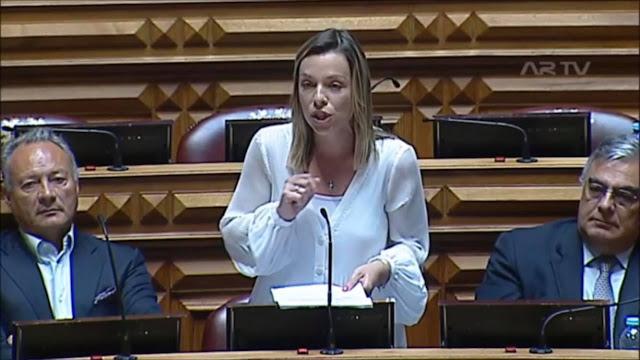 Deputada figueirense Ana Oliveira interveio no debate sobre a dispensa a cobrança de taxas moderadoras