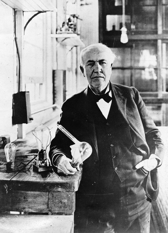 A report on thomas alva edison and his numerous inventions
