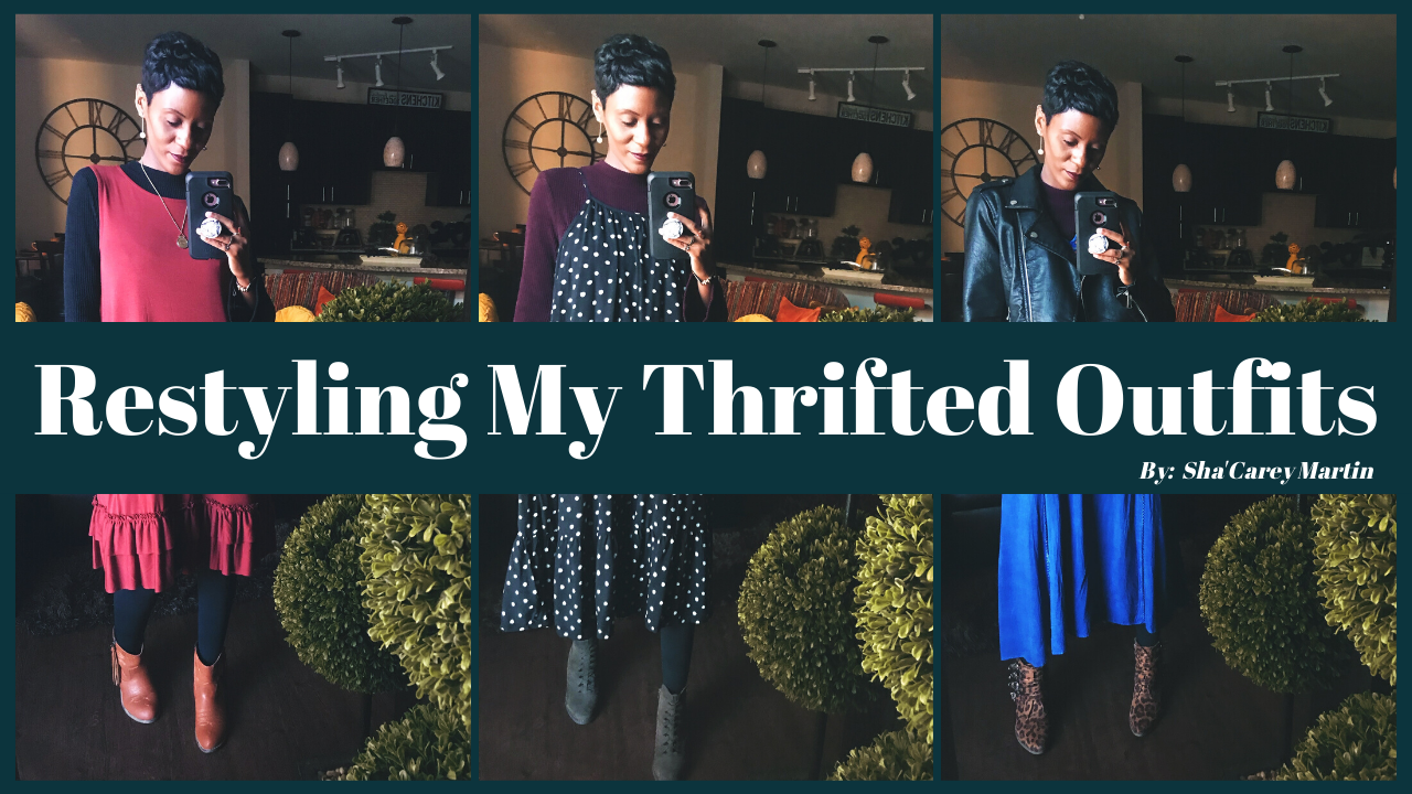 Restyling My Thrifted Outfits For An ENTIRE Week!
