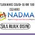 Bantuan Khas Covid-19 RM100 Sehari (NADMA)