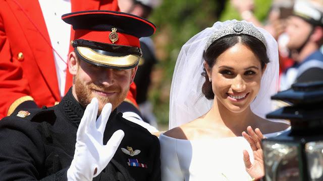 Filtran fotografías privadas de la boda del príncipe Enrique y Meghan Markle
