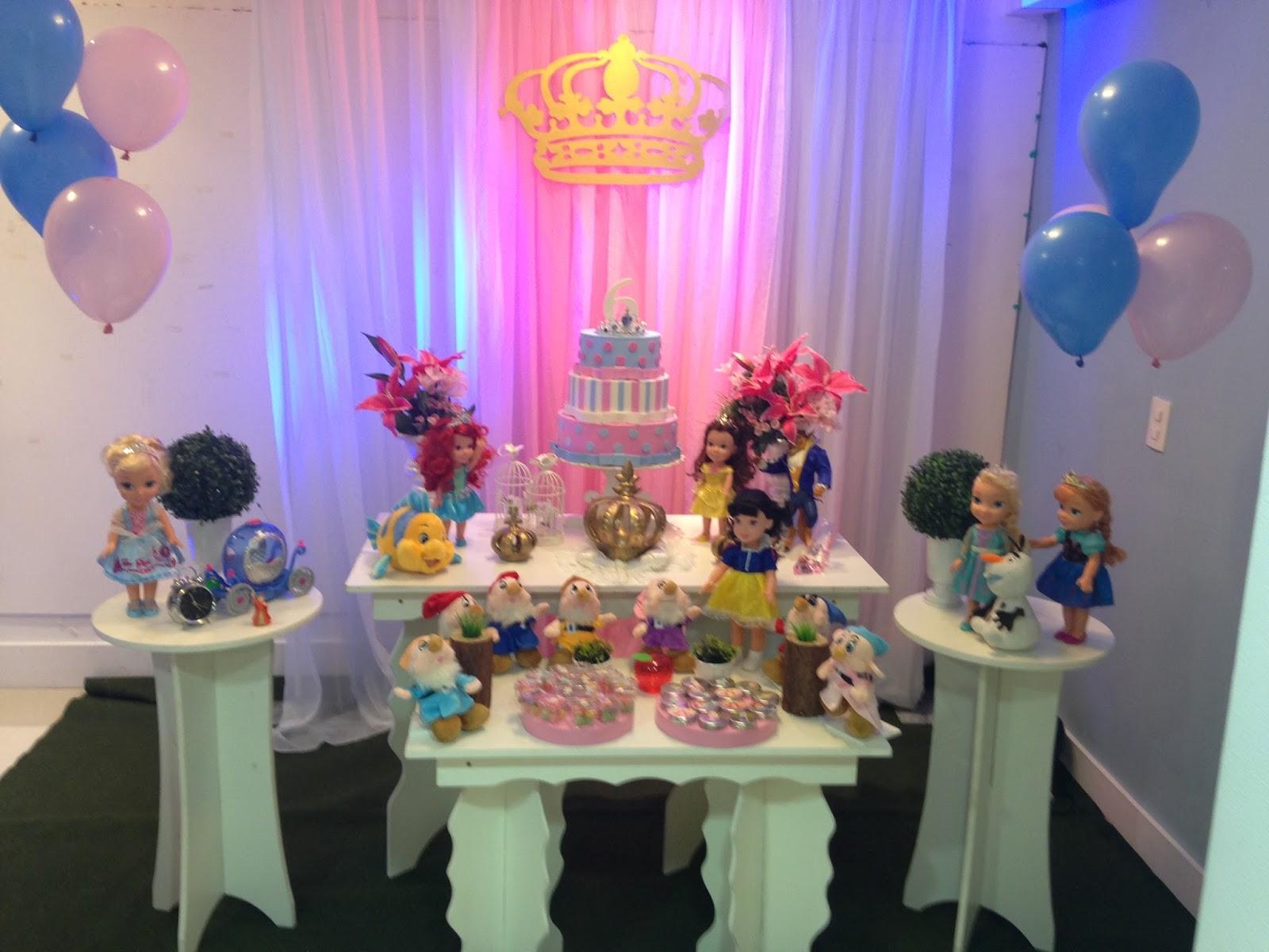 Decoraç u00e3o de festa infantil Princesas Disney Porto Alegre -> Decoração De Festa Das Princesas Da Disney