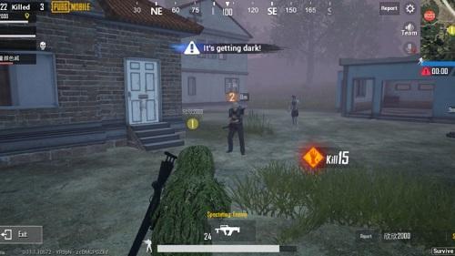 Maps trận chơi của chơi PUBG có dung lượng lên đến 64km vuông