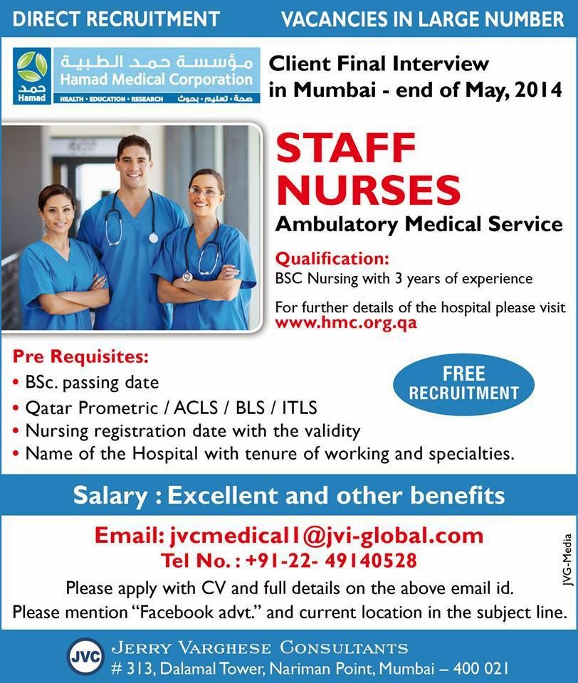 Qatar Prometric For Nurses