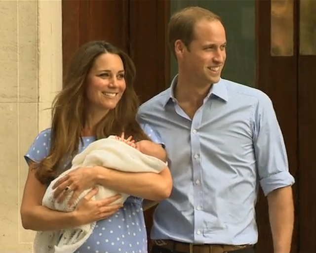 royal baby, Prince George, royal infants, Prince William, Duke of Cambridge, Duchess of Cambridge