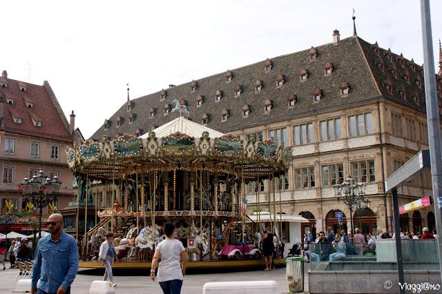 Place Gutenberg di Strasburgo dedicata al famoso personaggio