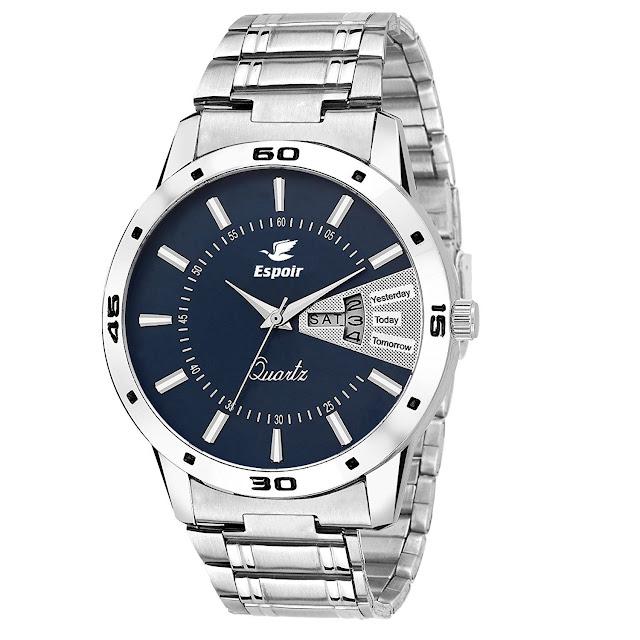 Espoir Analog Blue Dial Men's Watch