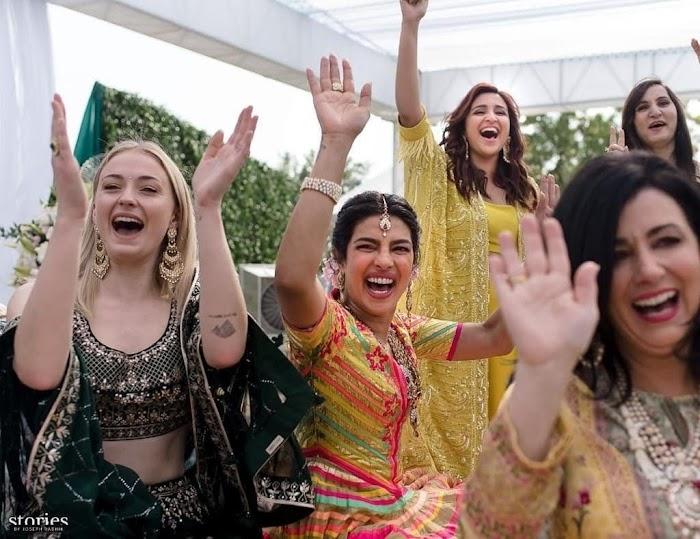Priyanka Chopra and Nick Jonas Wedding Ceremony Photos|HD Pictures