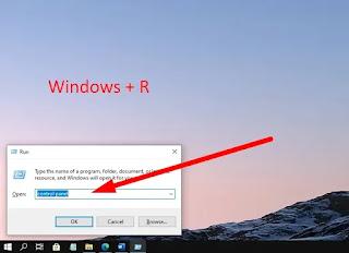 Cara Membuka Control Panel Dengan Keyboard Di Windows 10