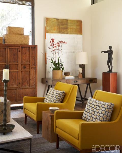 glamorous mustard yellow color living room | kreyv: [color kreyv]: Mustard Yellow