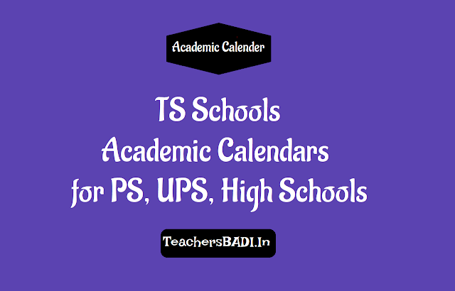 academic calendar  for primary,upper primary and high schools,ts telangana ps,ups and high school's telugu,english and urdu medium academic calendars download,ps academic calendar,ups academic calendar,high school academic calendar