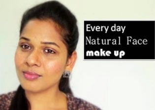 Every day simple make up under 5 min | For college, office & running late party