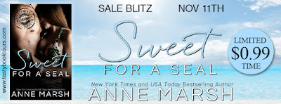Sale Blitz and Giveaway: Sweet For A Seal by Anne Marsh