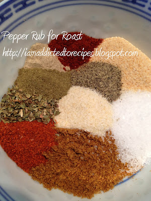 Pepper Rub for Roast | Addicted to Recipes