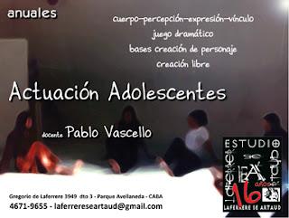 Programa Actuación Adolescentes