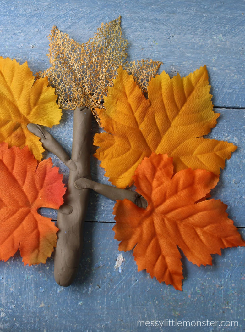 autumn playdough