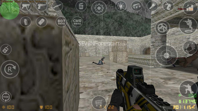 mod PB for CS 1.6 android