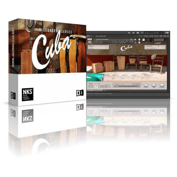 Native Instruments Discovery Series Cuba KONTAKT Library