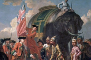 East India Company which ruled over a region