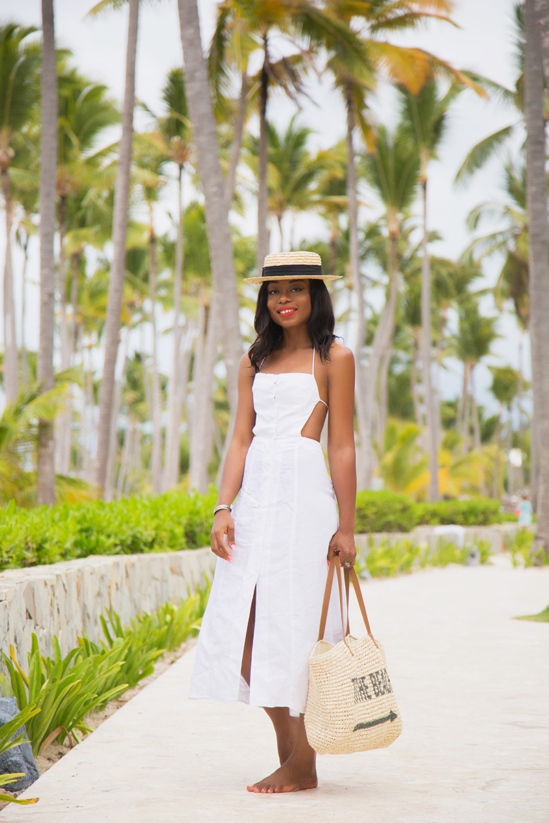reformation dress, punta cana, www.jadore-fashion.com