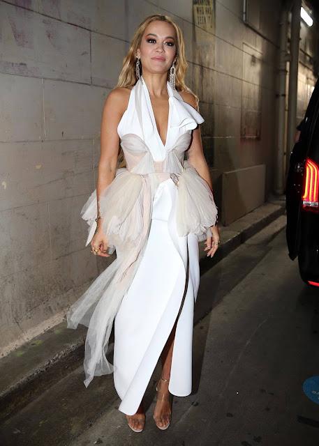 Rita Ora – 20201 Grammy's Awards 'Live-Cross' in Sydney