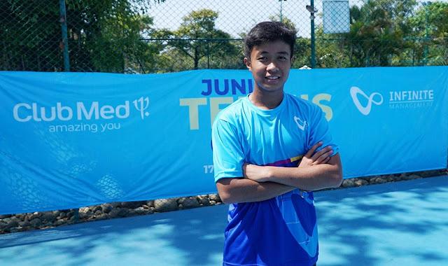 Usai Ikuti Infinite Junior Tennis Camp, Prestasi Rian Melesat
