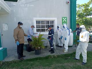 En San Cristóbal sociedad civil inician operativos de desinfección
