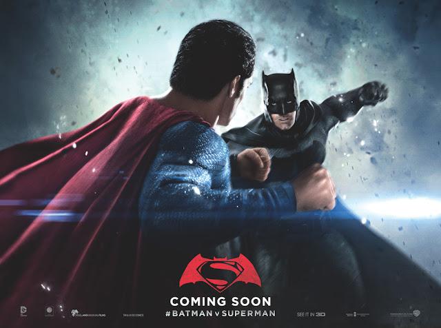 Estos son los particulares pósters de tres de los protagonistas de 'Batman v Superman: El amanecer de la Justicia'