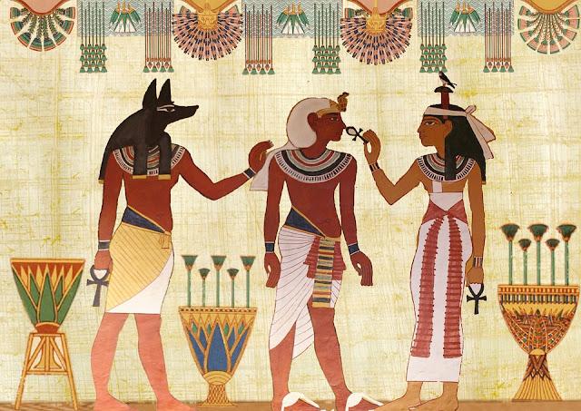 Viaje egipcio al próximo mundo