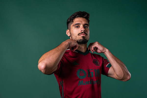 Wolves' new third kit remarkably similar to Portugal's home shirt