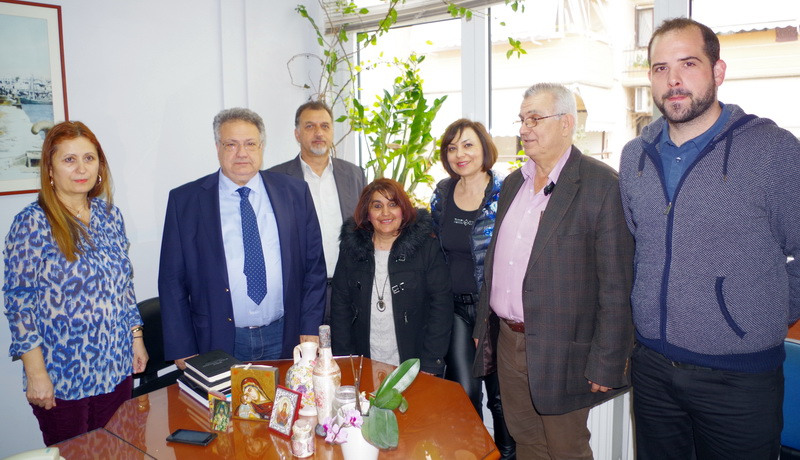 Περιοδεία του υποψήφιου Περιφερειάρχη ΑΜ-Θ Κώστα Κατσιμίγα στην Αλεξανδρούπολη