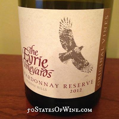 Eyrie Vineyards 2012 Reserve Chardonnay
