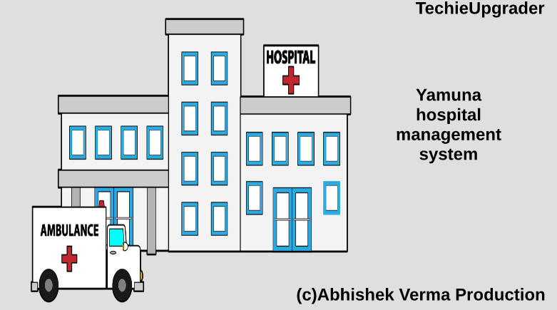 Yamuna Hospital Management System Techieupgrader