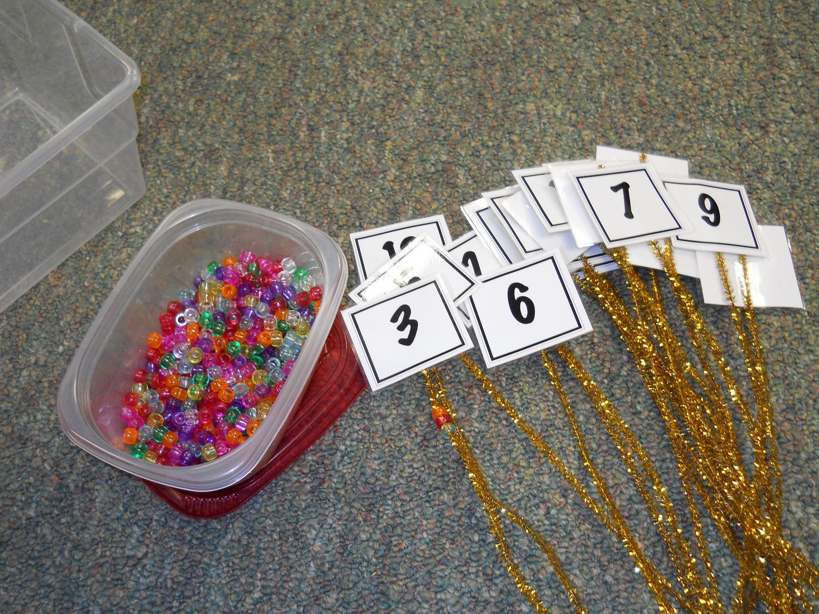 Krazy In Kindergarten Winter Math Centers