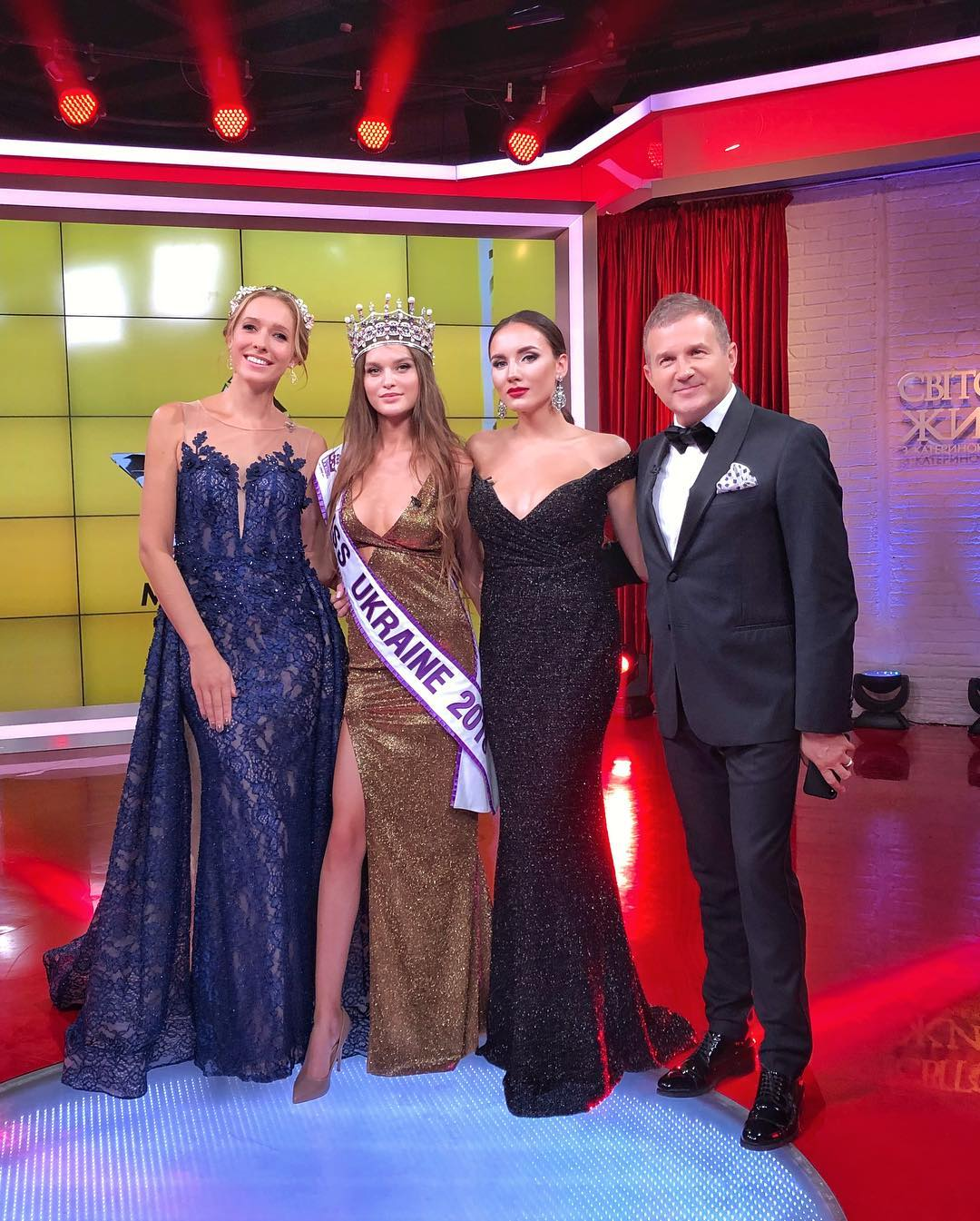 Leonila Guz is Miss Ukraine 2018 replacing Veronika Didusenko !