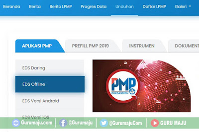 Download Prefil PMP dan Aplikasi PMP Offline Tahun 2019