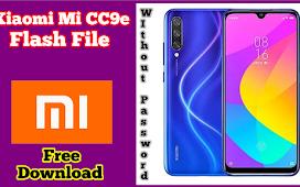 Xiaomi Mi CC9e Stock Firmware (flash file)