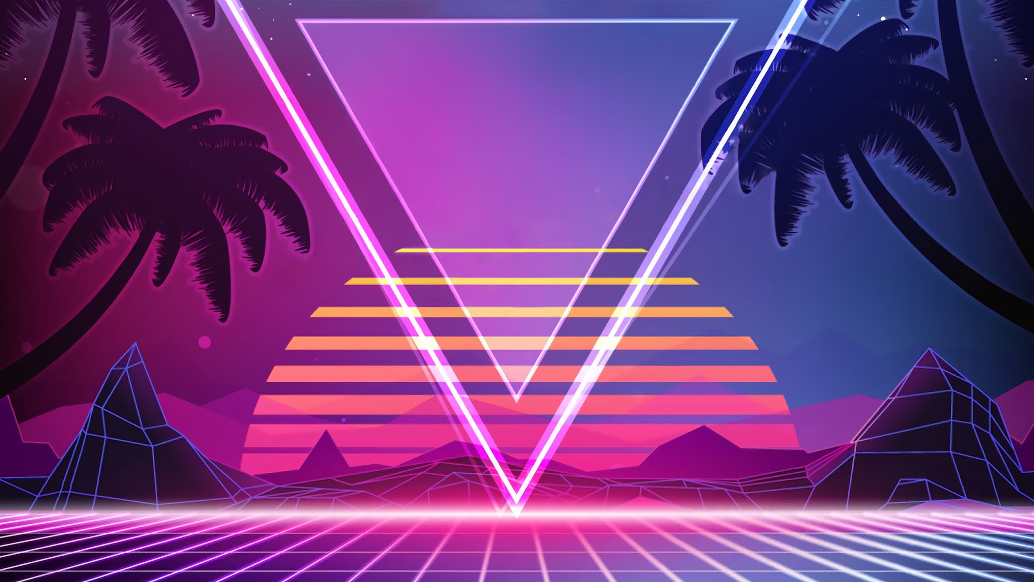 Get Synthwave Wallpapers Iphone Background