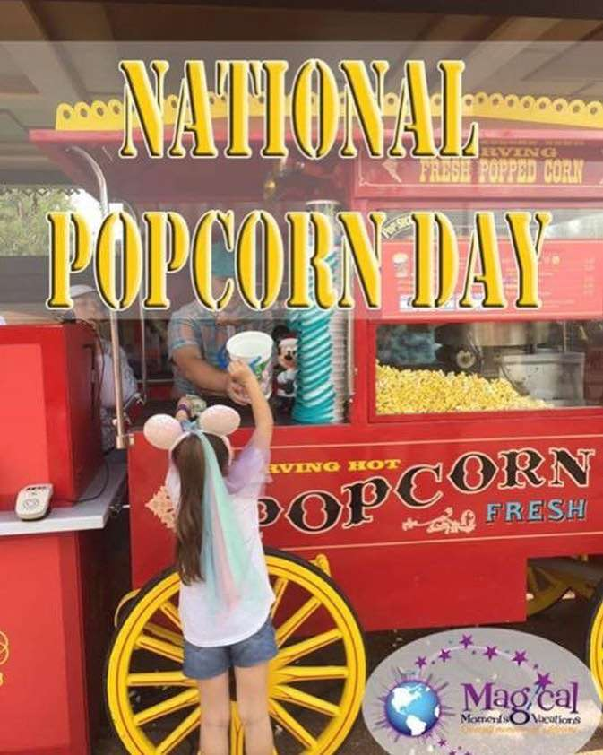 National Popcorn Day Wishes Awesome Picture
