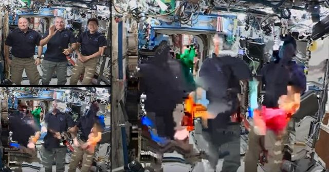 Live Stream Interview with ISS Astronauts gets a Remarkable End Nasa%2Biss%2Blive%2Bstream