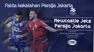 Fakta dibalik Kekalahan Persija Jakarta atas Newcastle Jets 1-3